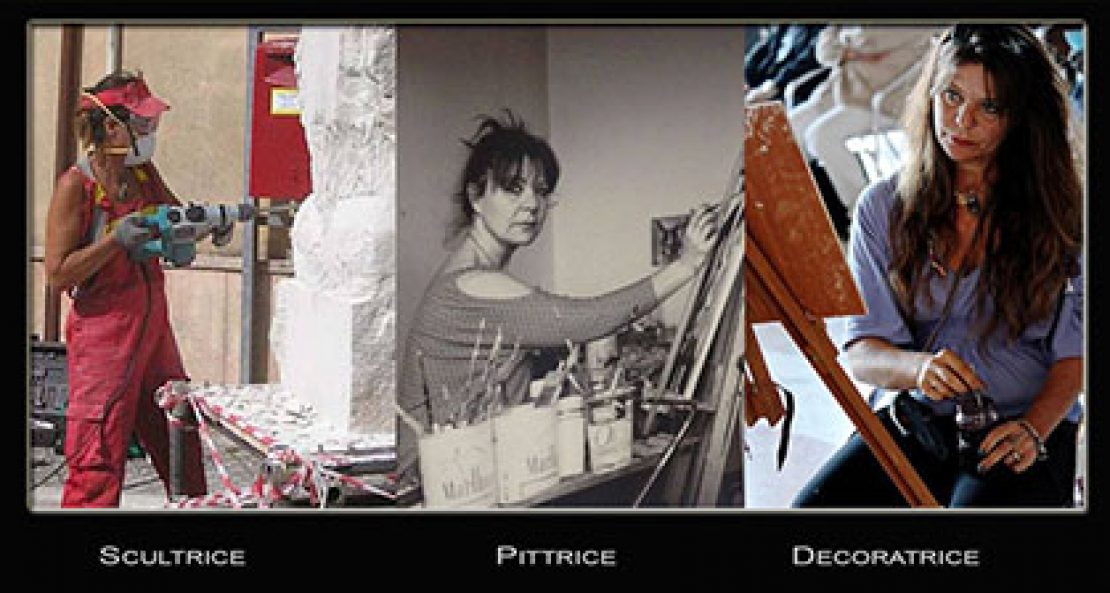 Michelle Consalvo Scultrice Pittrice Italiana